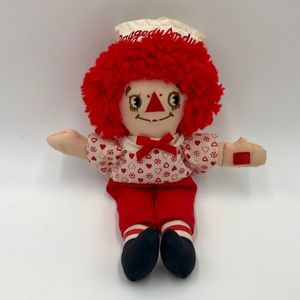 Vintage 1980's Small Raggedy Andy Doll